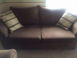 $350 Clean Couch Set, Take by Morning