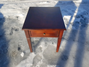 Cherry end table NEW