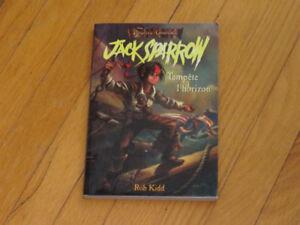 -JACK SPARROW /TEMPÊTE A l'HORIZON / ROB KIDD