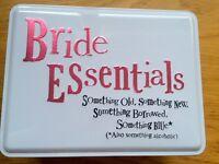 Bride Essentials Storage Tin