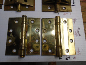 """Hinges : Brass/ Bronze / Stainless Steel 4.5 and 3.5 """""""