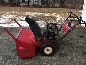 Snow blower 10 hp