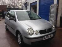 Volkswagen Polo 1.4 Petrol – 5 Door – IDEAL FOR NEW DRIVERS – REDUCED NOW £1,299