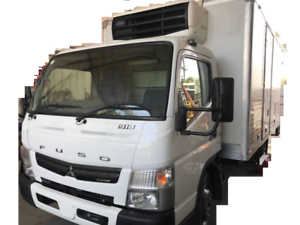 FUSO CANTER FE 918 FRIDGE , REFRIGERATED 2014 8000KG, 6 Pallet Blair Athol Port Adelaide Area Preview