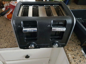 4 slot toaster works great