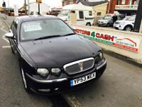 Rover 75 2.0 CDTi ( 131Ps ) Connoisseur SE DESEIL Manual Metaliic Black