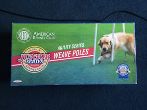 DOG AGILITY Weave Poles. NEW
