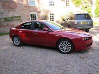 2008/08 Alfa Romeo 159 1.9 TDi Lusso Diesel 150bhp Saloon ALFA RED
