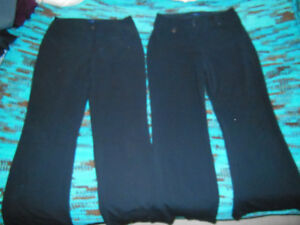 Two pairs of S-9 Reitmans  black dress work pants both for 25.00