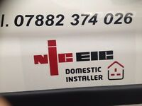 QUALIFIED ELECTRICIAN. - NICEI DOMESTIC INSTALER