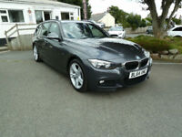 2015/64 BMW 330 MSport ( 258bhp ) Touring Auto with SatNav~Leather~FDSH.