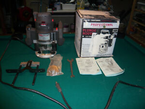 Craftsman Professional Plunge Router