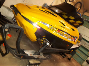 Great sled!  Ready to ride
