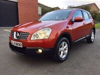 NOVEMBER 2007 NISSAN QASHQAI ACENTA 1.5 DCI 87,000 MILES JUST BEEN SERVICED TWO OWNERS