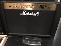 Marshall 100w 2x12 Combo and Footswitch