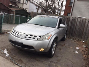 2004 Nissan Murano AWD Full Loaded Valid E Test SUV 2500$O.B.O