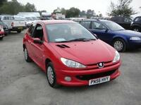 2007 Peugeot 206 1.4 Look. Only 65,000 miles.