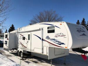 JAYCO double slide 31.5 BHDS fifth wheel camp travel trailer
