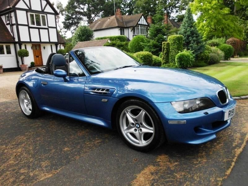 Bmw M Roadster Z3 With Hardtop Genuine Low Mileage In