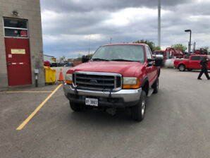 2001 Ford F-350 (XLT) 4x4 Super Duty & Plow For Sale - $5,500