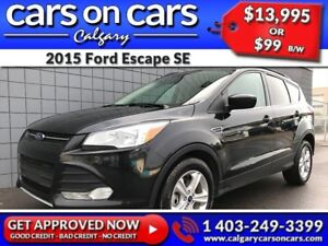 2015 Ford Escape SE $0 DOWN, $99 B/W! APPLY NOW!