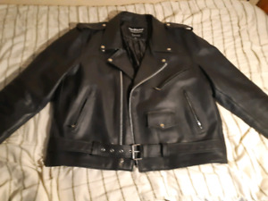 Leather Motorcycle Jacket.new lower price!!