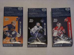 Unopened Kraft Dinner Boxes with Hockey Cards