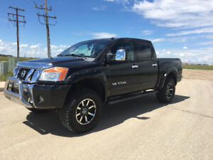 "3"" lifted Nissan Titan"