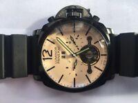 Panerai luminor automatic watch with rubber strap