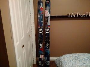 Atomic Blog Downhill Skis 169