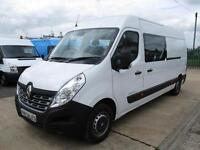 15 reg RENAULT MASTER LWB 125 BUSINESS, CREW, WELFARE UNIT, MESS, TOILET VAN