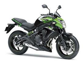 "Kawasaki ER6N ABS MY16 PRE-REGISTERED BIKE ""16 PLATE"" New & Unused"