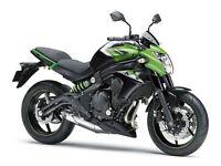 """Kawasaki ER6N ABS MY16 PRE REGISTERED BIKE """"66 PLATE"""""""