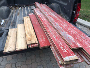 Tongue and Groove Barnboard