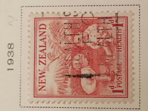New Zealand stamp 1929  Health and 1939 Health for $ 19