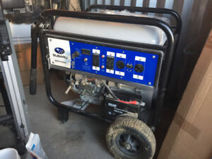 2018 Subaru Generator 7500, only used once