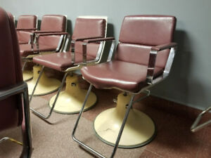 Assorted Salon/Adjustable Chairs