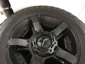 ROCKSTAR Rims and Mickey Thompson Tires NEW