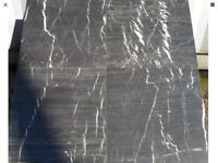 Black Emperador Marble Effect 45x45 wall floor tiles 17 m2 available