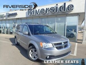 2017 Dodge Grand Caravan Crew Plus  - Leather Seats - $161.71 B/