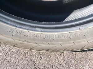 "One 18"" tire for sale Gatineau Ottawa / Gatineau Area image 3"