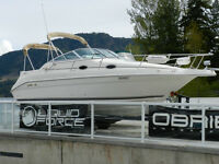 1997 Searay 250 Sundancer - 7.4EFI Merc - Bravo 3 - CLEAN!