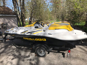 2006 seadoo sportster with trailer mint shape