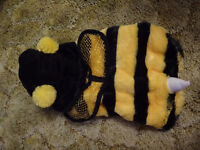 Top Paw Bee Halloween Costume for Small Dogs or Puppies