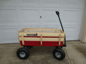 CASE IH CHILDS RIDING WAGON QUALITY CONSTRUCTION