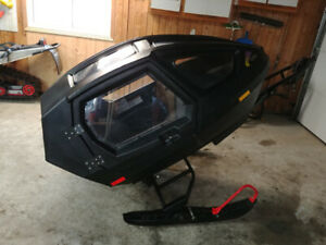 Equinox 685 kid's snowmobile sleigh.