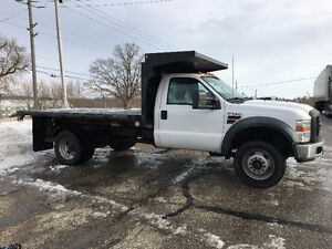 2010 Ford F-550 XL Pickup Truck Diesel 4x4 12 FT Bd Hydraulic Kitchener / Waterloo Kitchener Area image 5