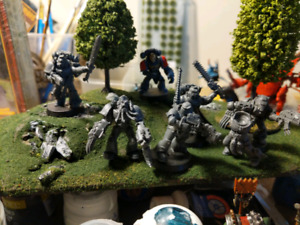 Space Wolves space Marines