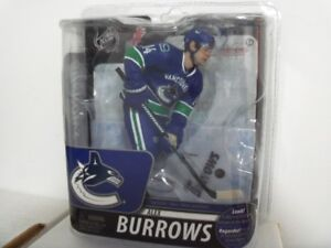 Signed Alex Burrows Vancouver Canucks NHL McFarlane Figure