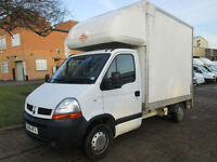 2007 Renault Master 2.5DCI LUTON 10FT BOX. TAIL-LIFT. VERY LOW 52,000 MILES. FSH
